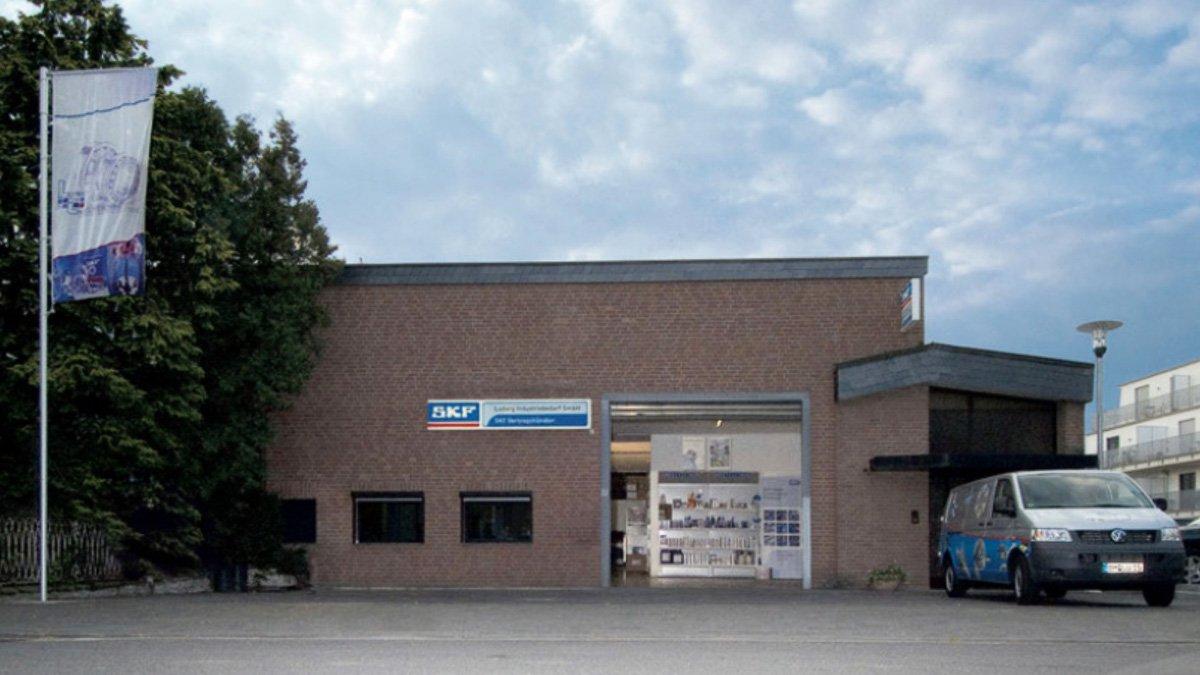 Ludwig Industriebedarf SKF Vertragshändler Köln Aussenansicht