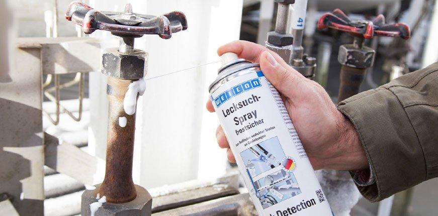 Weicon Lecksuch Spray Ludwig Industriebedarf Blog